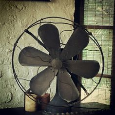 A beautiful table fun-another vintage find...such graceful design! #design#table fan#india#vintage#indian vintage#architecture#art#artefacts