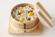 chestnut rice Japanese food