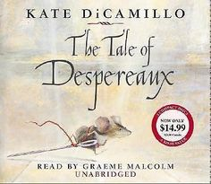 The Tale of Despereaux by Kate DiCamillo UNabridged on 3 CDs Audio Book