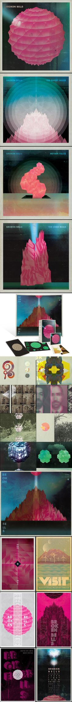 Broken Bells — Complete Covers Collection by Jacob Escobedo #music #album #design (via http://mmth.us/simplify)