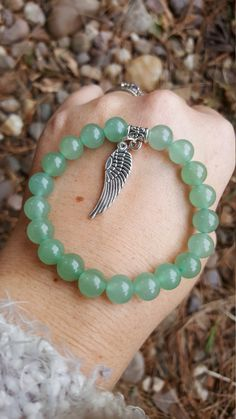Check out this item in my Etsy shop https://www.etsy.com/uk/listing/490796841/green-aventurine-gemstone-bracelet-buy