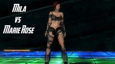 Dead or Alive 5 Last Round Mila vs Marie Rose (Senran Kagura Costumes)