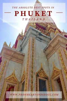 Taking a trip to Phuket, Thailand? Click here for the Ultimate Travel Guide! From the best Thai food recommendations to the top tips on touring the Phi Phi Islands - We've got everything you need to know covered.