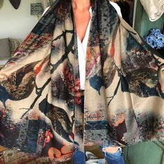 Beautiful cashmere scarves to keep you cosy this winter Cashmere Scarf, Cosy, Alexander Mcqueen Scarf, Scarves, Kimono Top, Winter, Beautiful, Instagram, Women