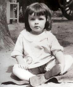 Judy Garland when she was just li'l ol' Frances Gumm