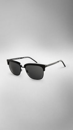 Trench Collection Square Frame Sunglasses | Burberry