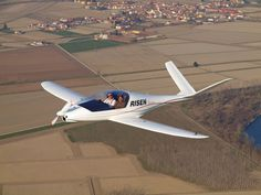 Risen - Swiss Excellence Airplanes, 194 mph on 100 hp, 23 to 1 glide ratio Small Private Jets, Private Plane, Military Jets, Military Aircraft, Kit Planes, Radio Controlled Aircraft, Light Sport Aircraft, Experimental Aircraft, Air Space