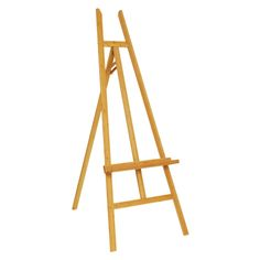 This Art Easel is Made of Bamboo, a Durable Unit for Long-Lasting Use! Art Easel, Wooden Easel, Painting Tattoo, Hand Painted Signs, Made Of Wood, Playroom, Bamboo, Artist, Crafts
