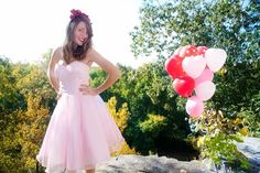 Pink Wedding Dress  Whole Lotta Rosie by thepeppermintpretty