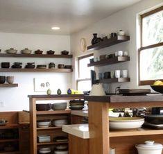 cocina estanteras casa pinterest estanteras abiertas cocina de estanteras abiertas y botellas de boticario