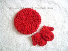 Conjunto de Crochê Pipoca artelinharj@gmail.com 62 98146.4188