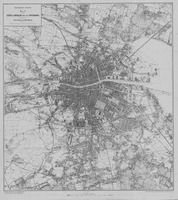 """Map of the city and environs of Dublin which was published in the Thom's title """"Thom's Irish almanac and official directory"""" University College Dublin, Geography Map, Types Of Resources, Dublin City, Kingdom Of Great Britain, Dr Arnold, Maps, City Photo, Irish"""