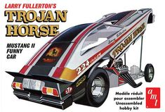 amt trojan horse ford mustang funny car model coming soon