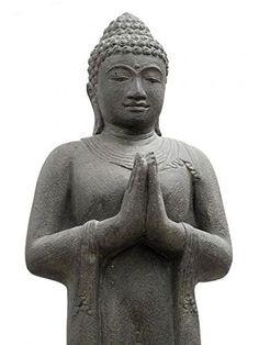 Buddha Statue Figur Skulptur Stehend (117 cm) Asien Indon... https://www.amazon.de/dp/B00UFWS8NE/ref=cm_sw_r_pi_dp_x_52a.xbGSSVFJ1
