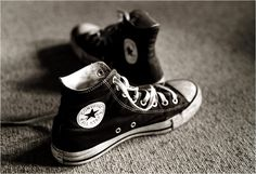 Chucks are always a good idea.                                                                                                                                                                                 Mais