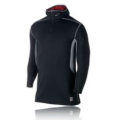 Nike Pro Combat Hyperwarm Fitted Dri-Fit Max Athlete Hooded Men's Top - HO14 (1)