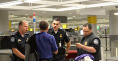 Within hours of President Trump's executive order limiting immigration green card and visa holders were already being blocked from airports.