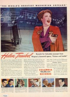 1940's ad. Hagins collection.