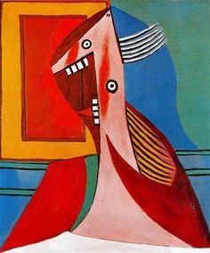 Busto de una mujer y el autorretrato - Pablo Picasso