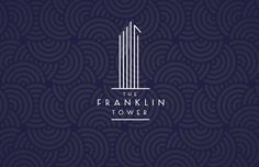 A defining brand identity for an iconic Tribeca property, Weinstein drew inspiration from the historic art deco lobby.  #realestate #logo #branding #design #architecture #artdeco #sales