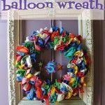 Make a Dollar Store Balloon Wreath