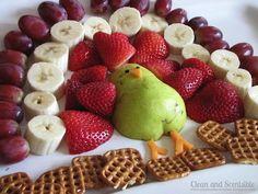 Thanksgiving Veggie & Fruit Plates