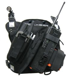 Radio Chest Harness - Coaxsher RCP-1 Pro Radio Chest Harness  ML: Nice product for the essencial radio comm equipo!
