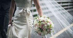 wedding daughter walk