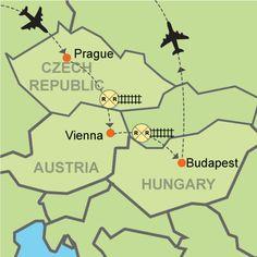 Prague - Vienna - Budapest?utm source=goog Customizable Itinerary from EuropeanDestinations.com