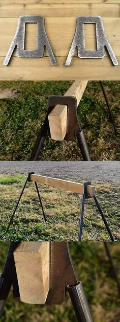 Cool Welding Projects, Metal Art Projects, Woodworking Projects Diy, Metal Crafts, Diy Wood Projects, Diy And Crafts, Metal Working Tools, Metal Tools, Steel Target Stands
