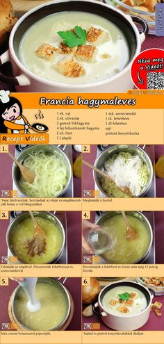 Französische Zwiebelsuppe Rezept mit Video - Suppen Rezepte - Pratik Hızlı ve Kolay Yemek Tarifleri Raw Food Recipes, Diet Recipes, Cooking Recipes, Healthy Recipes, Dessert Recipes, Onion Soup Recipes, Hungarian Recipes, French Recipes, Eating Raw