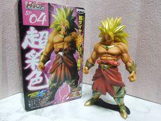New Dragon Ball Kai High Spec Coloring 04 Super Saiyan Broly Figure Mega Rare