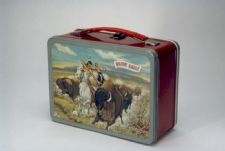 """Brave Eagle"" Lunch Box: ""Brave Eagle"" was a short-lived TV series, airing one season in 1955-1956 on CBS. The show was notable because its main protagonist was Native American, and featured scenes of the West from the Native American point of view."