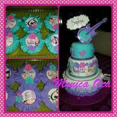 Violetta Cupcake