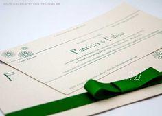 Convite Casamento Ecológico - Galeria de Convites