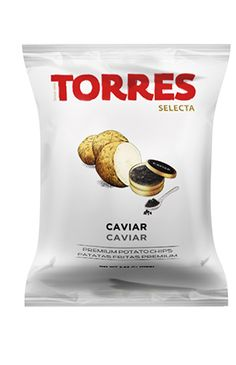 Potato Chips Torres - Gourmet snacks since 1969 | Products - Potato Chips - Selecta Potato Chips With Caviar