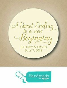 Hily Ever After Wedding Stickers Favor Tags Custom Labels Personalized Favors Gold I Jack And Megs Engagement