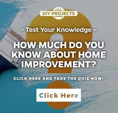 How much do you know about home improvement?