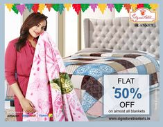 Buy Quilts & Blankets online at best prices.Shop from a wide range of single & double mink, cotton, fleece and wool blankets & quilts. Winter clearance sale is on get up to 50% off HURRY!!! Limited time offer  Buy now from Flipkart for COD & 10 days replacement policy  Shop now -> https://goo.gl/ixFwJp #signature #winterblankets #minkBlankets