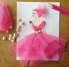 Creative Fashion Designs by Armenian Artist Edgar Source – EdgaR_ArtiS Comments comments Fashion Design Drawings, Fashion Sketches, Diy And Crafts, Arts And Crafts, Paper Crafts, Diy Paper, Arte Fashion, Fashion Illustration Dresses, Illustration Girl
