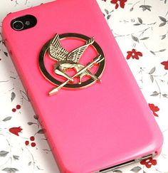 Pink Hunger Games iPhone case!
