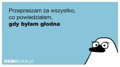 Pani Buka: Przepraszam za wszystko... Jokes, Smile, Let It Be, Humor, Photo And Video, Funny, Fictional Characters, Wombat, Husky Jokes