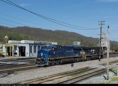 RailPictures.Net Photo: NS 8103 Norfolk Southern GE ES44AC at Bluefield, West Virginia by Billy Hager