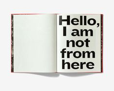 Swiss Federal Design Awards - Hello, I am not from here