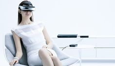 Sony's latest head-mounted video viewer to hit Europe in November