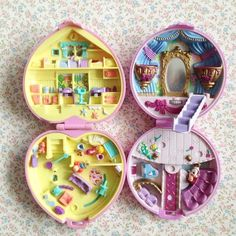 Image of Polly Pocket Bluebird Ballerine Opera et Perfect Playroom Babysitting collection 90s Childhood, Childhood Memories, Origami, Polly Pocket World, Poly Pocket, Mini Doll House, Barbie, Art Drawings For Kids, 90s Toys