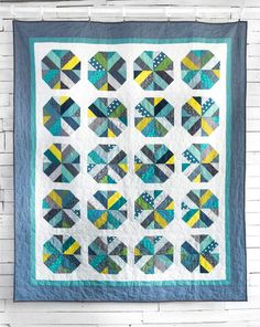 Gumballs, just one of several terrific patterns part of Amy Smart's Pre-Cuts Short Cuts class on Craftsy.  Sign up!  I loved it!