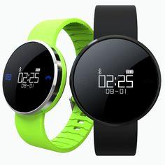 Sale 20% (21.99$) - UW1S Waterproof IP67 Smart Bracelet Heart Rate Call SMS Remind Hand Raise Light Up Smart Watch