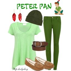 Peter Pan by hip-hedgehog on Polyvore featuring American Vintage, Ted Baker, SO, Aurélie Bidermann, Patagonia, G-Star Raw, women's clothing, women's fashion, women and female