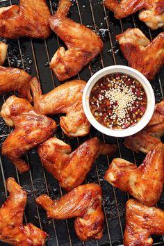 Korean-Style Chicken Wings - Ang Sarap